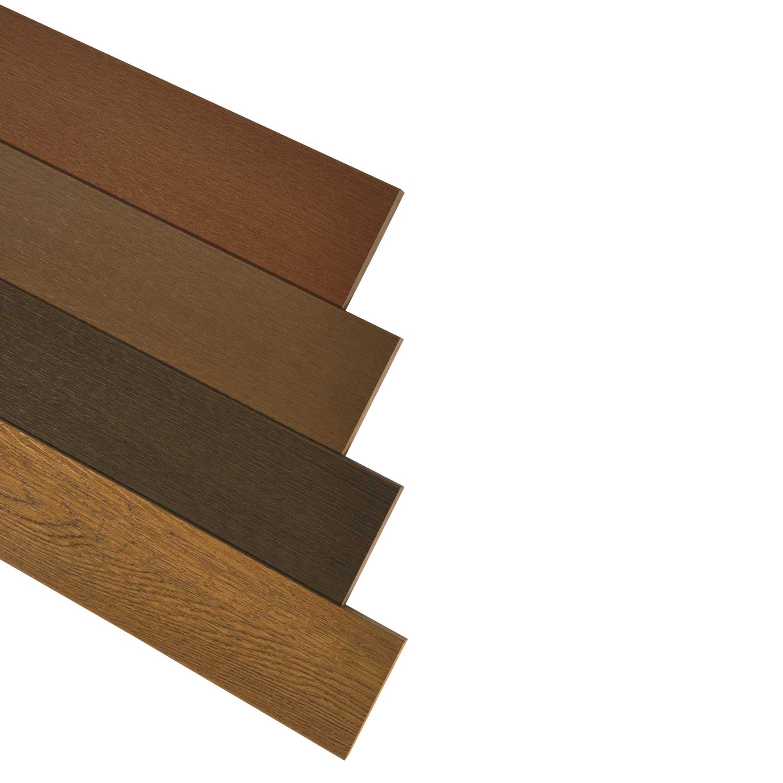 ไม้พื้นคัลเลอร์ทรู เฌอร่า ลายชัยพฤกษ์ สีน้ำตาลเชสนัท เปรียบเทียบสี